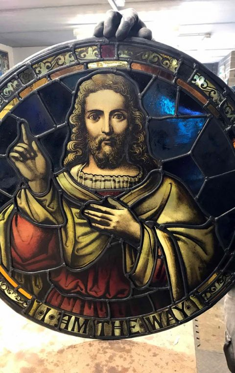 Rose Window - Stained Glass