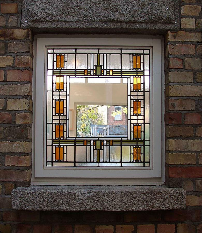 Art Deco Residential: Art Deco Leaded Glass